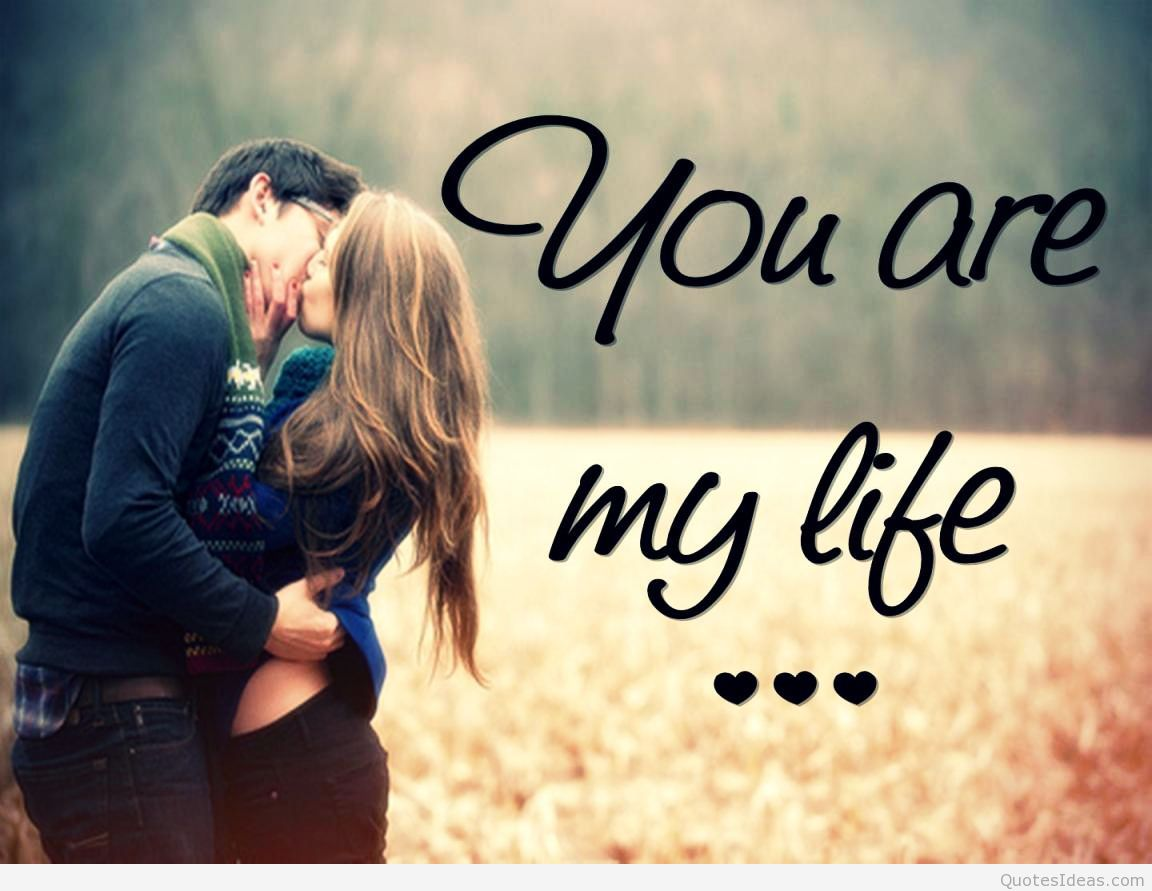 Couple Love Wallpaper With Quotes
