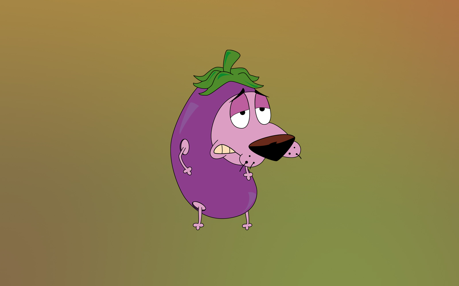 Courage The Cowardly Dog HD Wallpaper