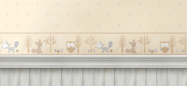 Covering Wallpaper Border