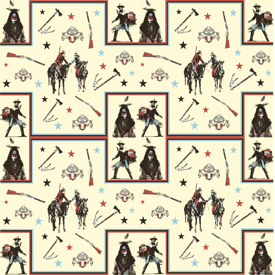 Cowboys And Indians Wallpaper