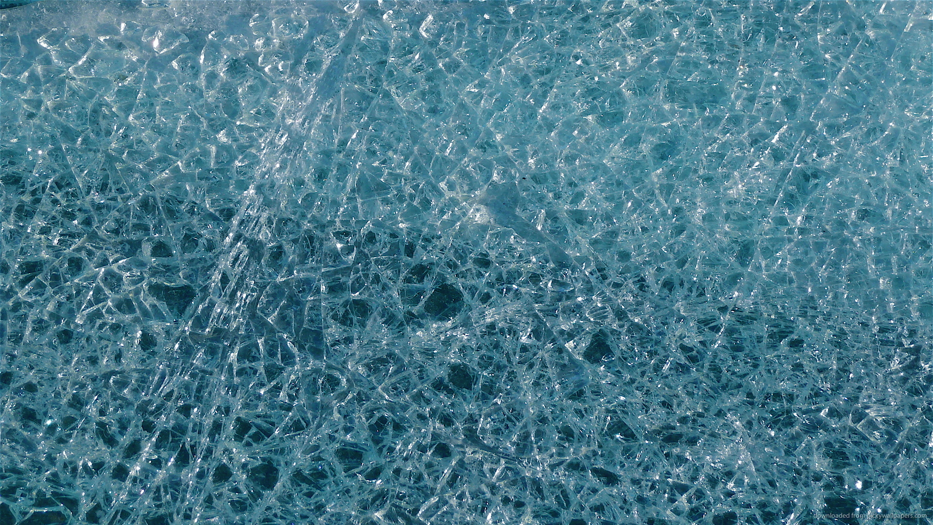 Cracked Ice Wallpaper