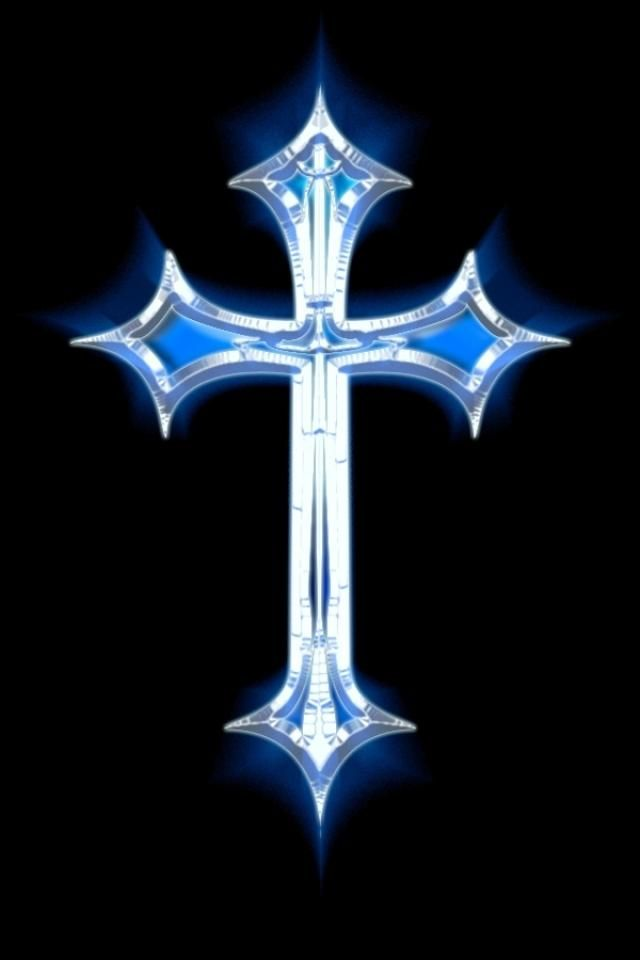 Cross Design Wallpaper