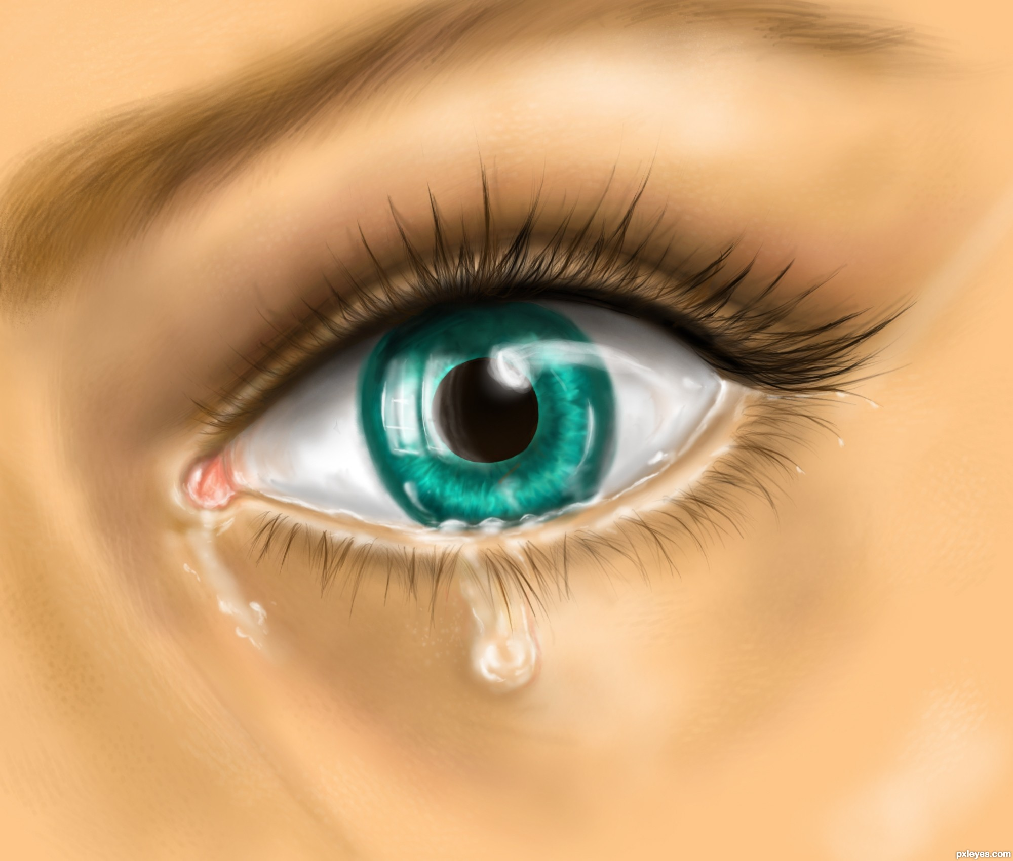 Download Crying Eyes HD Wallpapers Gallery