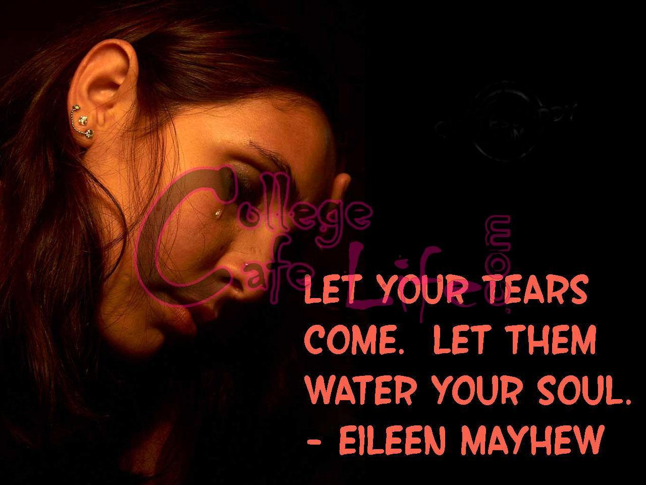 Crying Wallpapers With Quotes