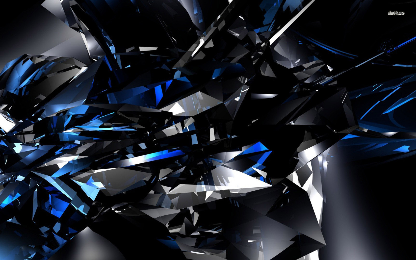 Crystal Black Wallpaper