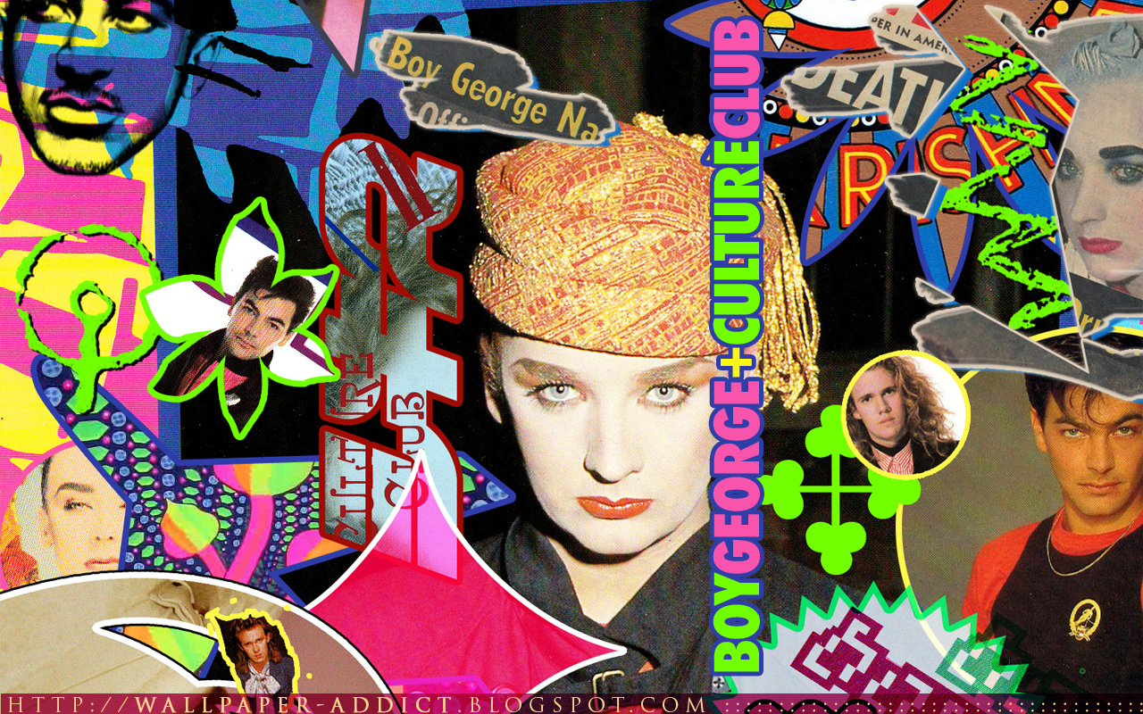 Culture Club Wallpaper