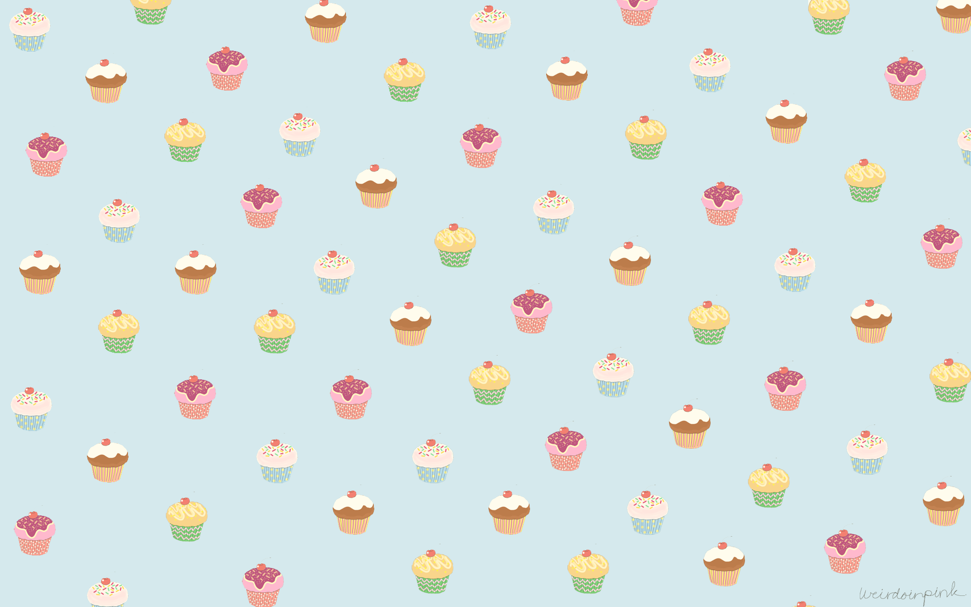 Cupcake Wallpaper For Walls