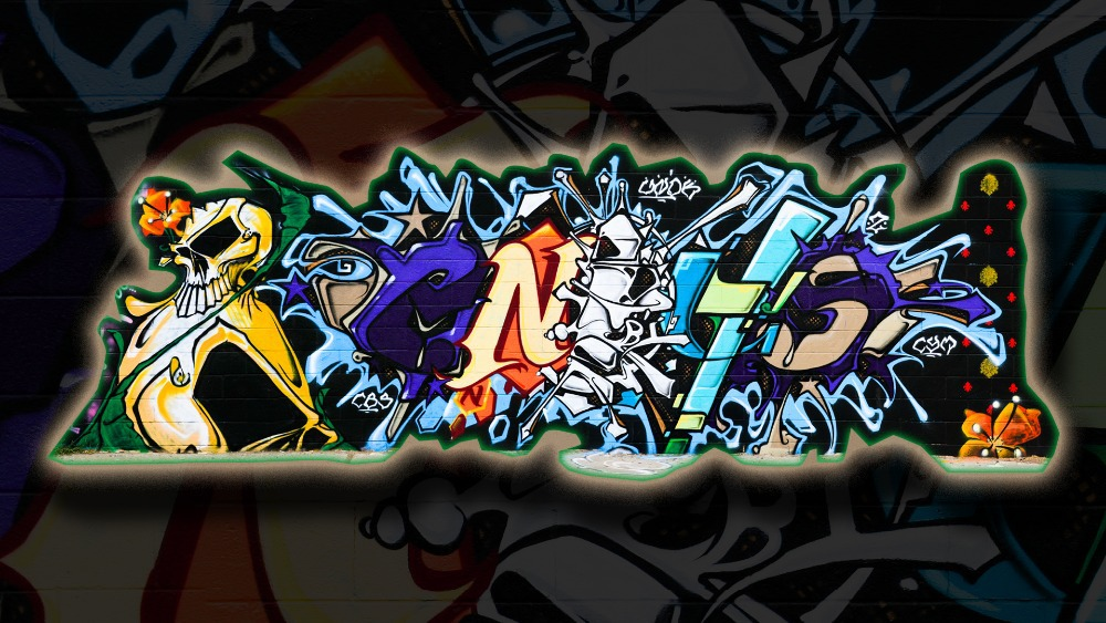 Custom Graffiti Wallpaper