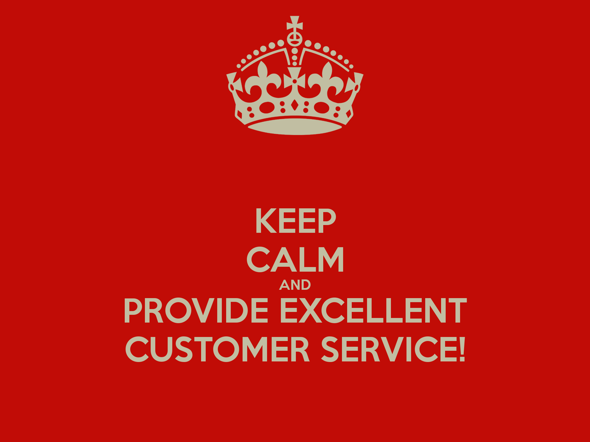 Customer Service Wallpaper