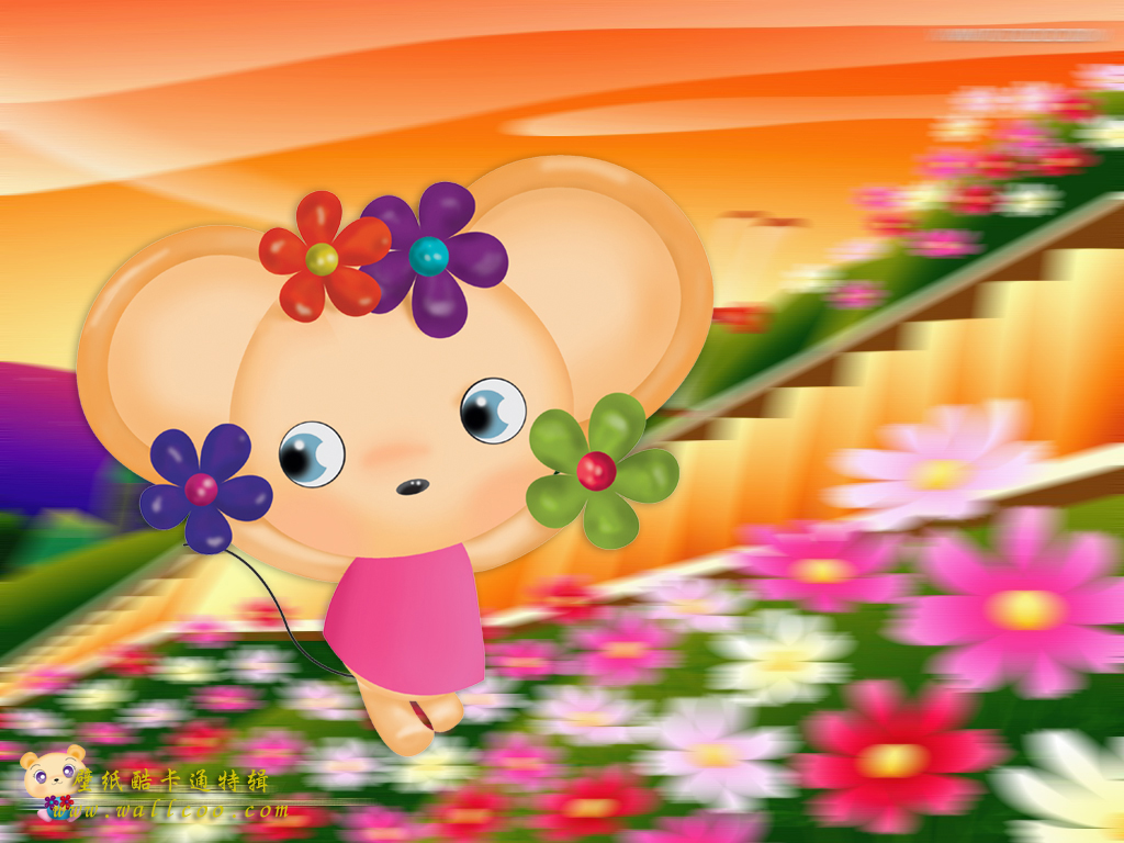 Cute Animal Cartoon Wallpapers