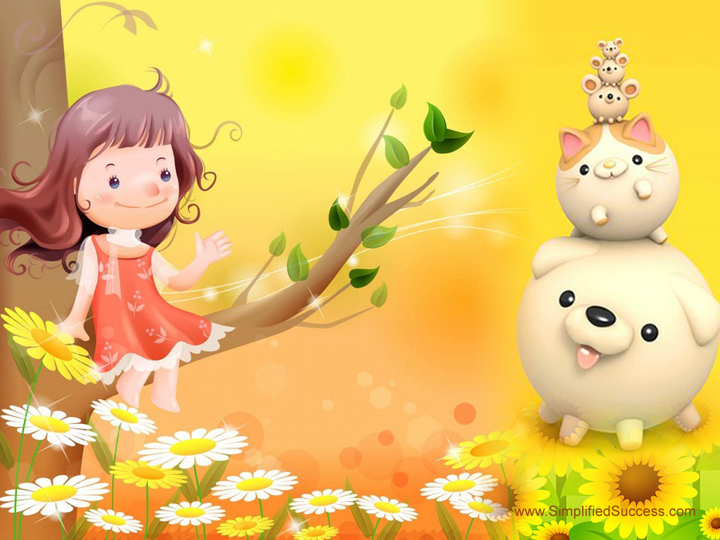 Cute Cartoon Wallpaper Free Download