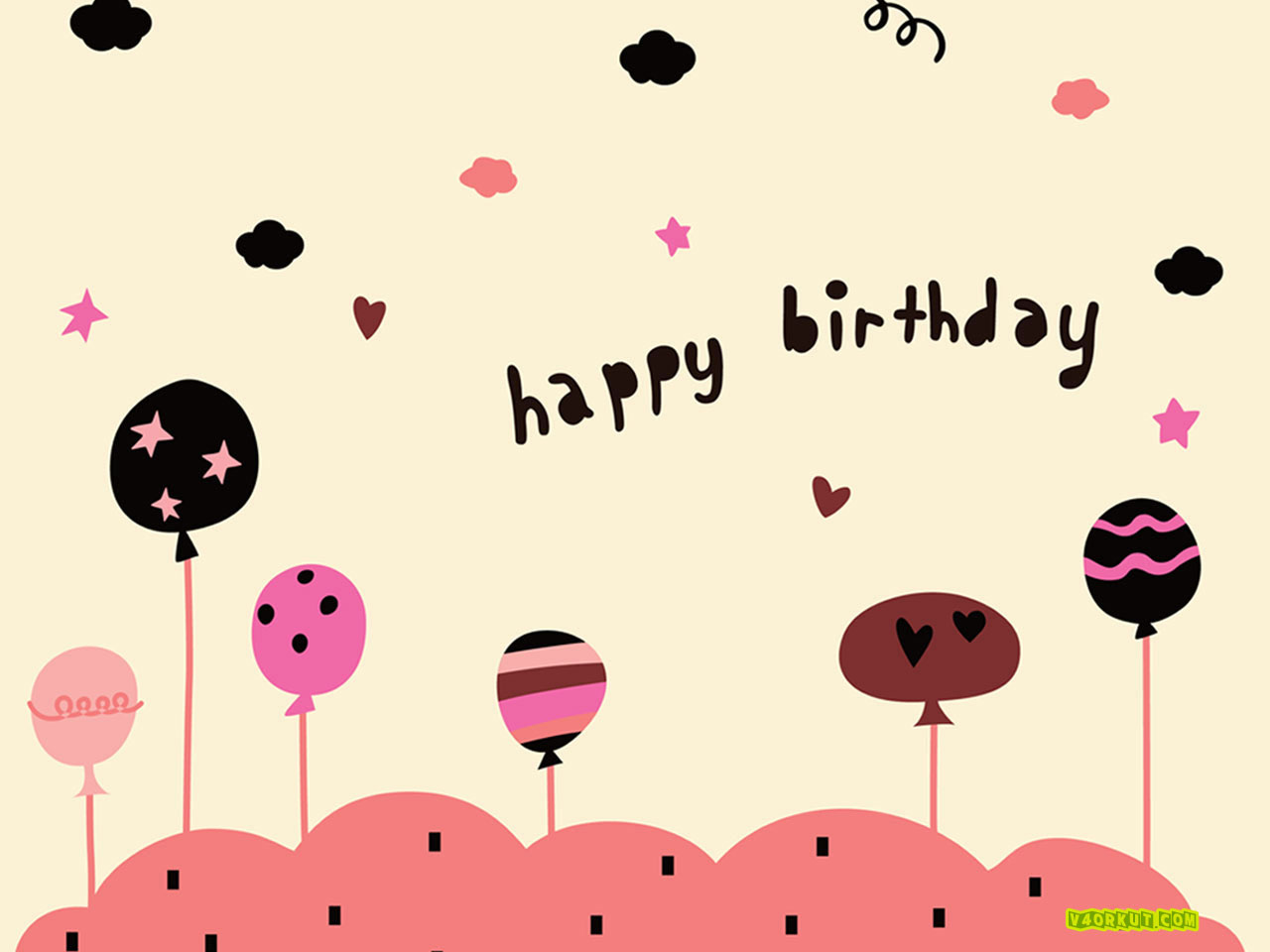 Cute Happy Birthday Wallpaper