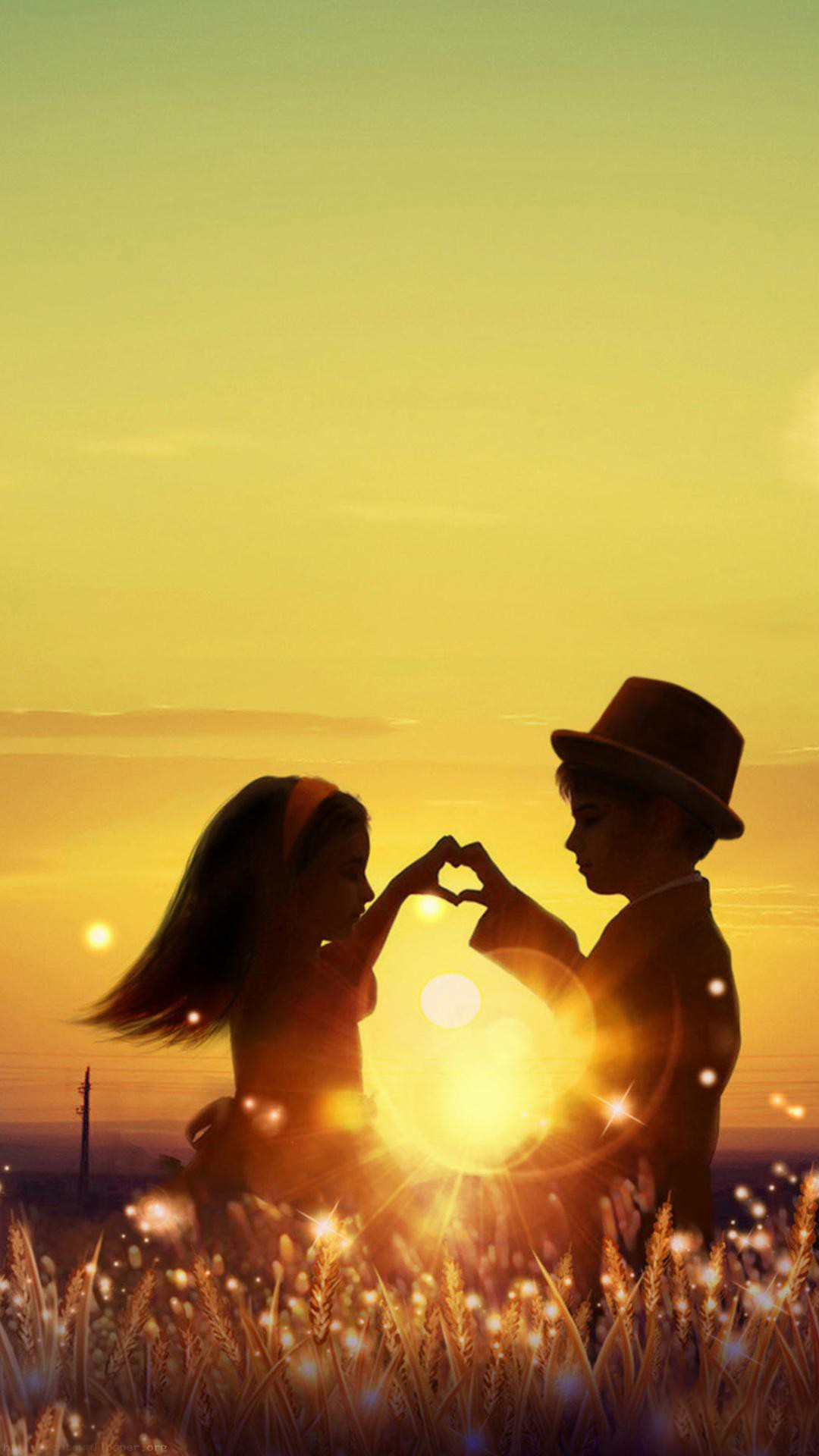 Download Cute Love HD Wallpapers For Mobile Gallery