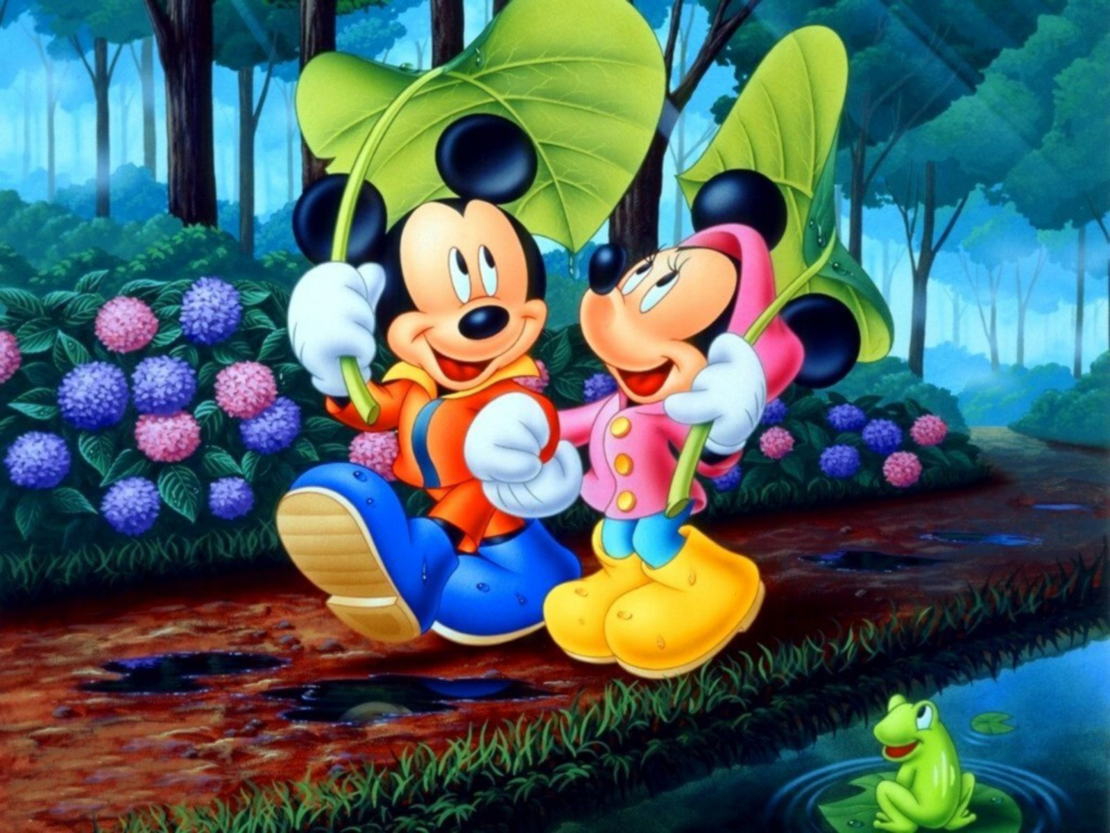 Cute Mickey Mouse Wallpaper HD Download