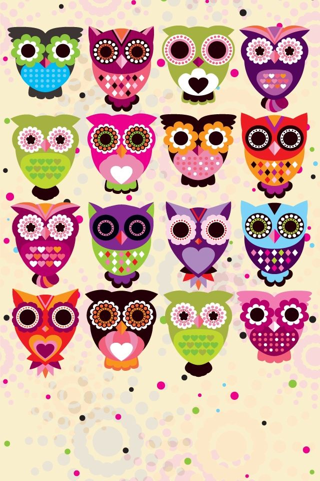Cute Owl Wallpaper For Iphone