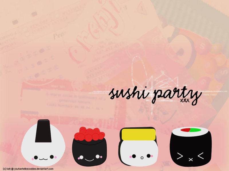 Download Cute Sushi Wallpaper Gallery