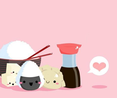 Cute Sushi Wallpaper