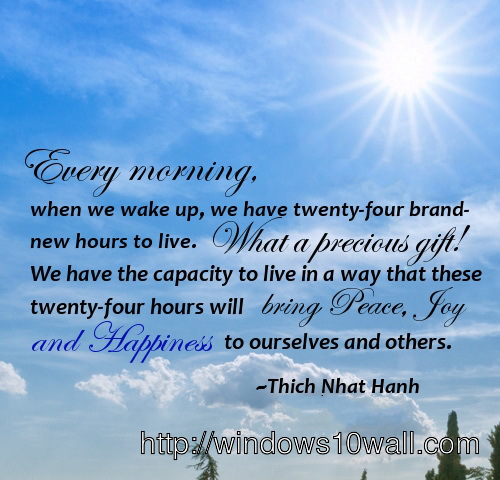 Daily Inspirational Quotes Wallpaper