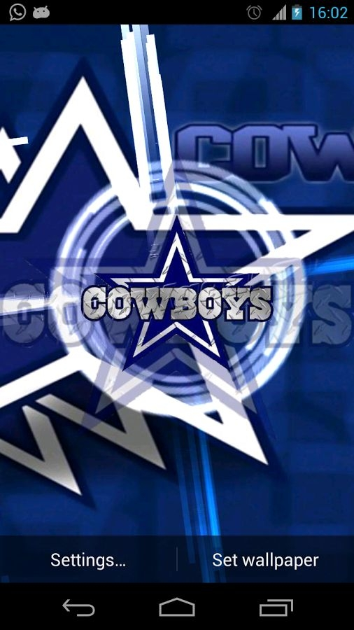 Dallas Cowboys 3D Live Wallpaper