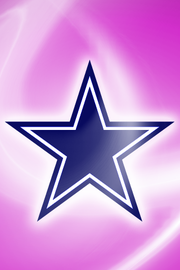 Dallas Cowboys Pink Wallpaper