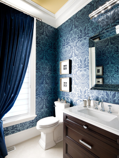 Damask Wallpaper Ideas