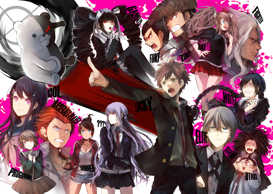 Danganronpa The Animation Wallpaper
