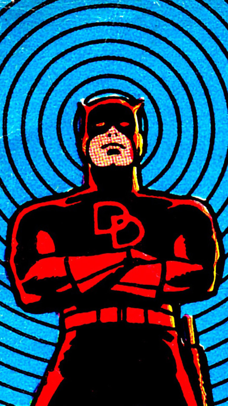 Wallpaper iphone retro - Daredevil Wallpaper Iphone