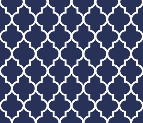 Dark Blue And White Wallpaper