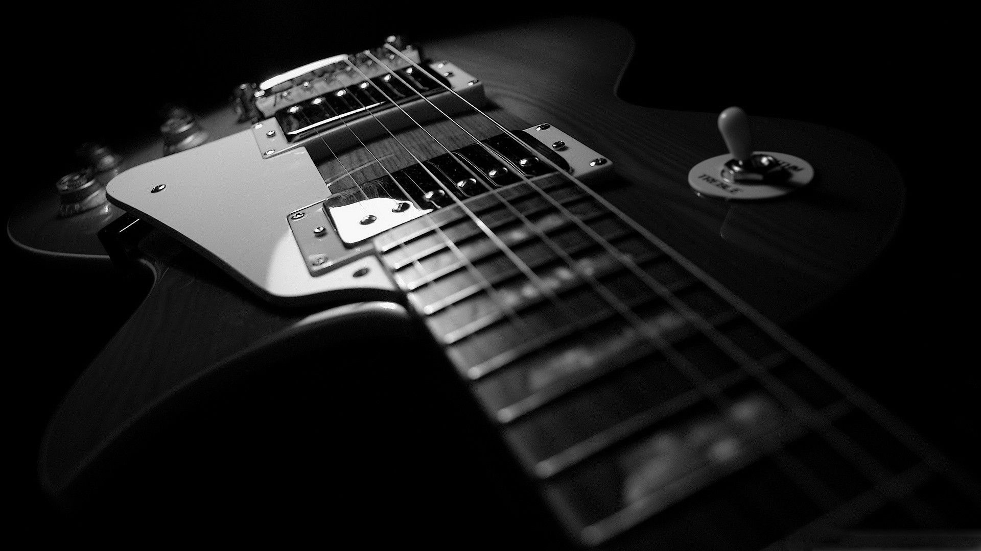Dark Guitar Wallpaper
