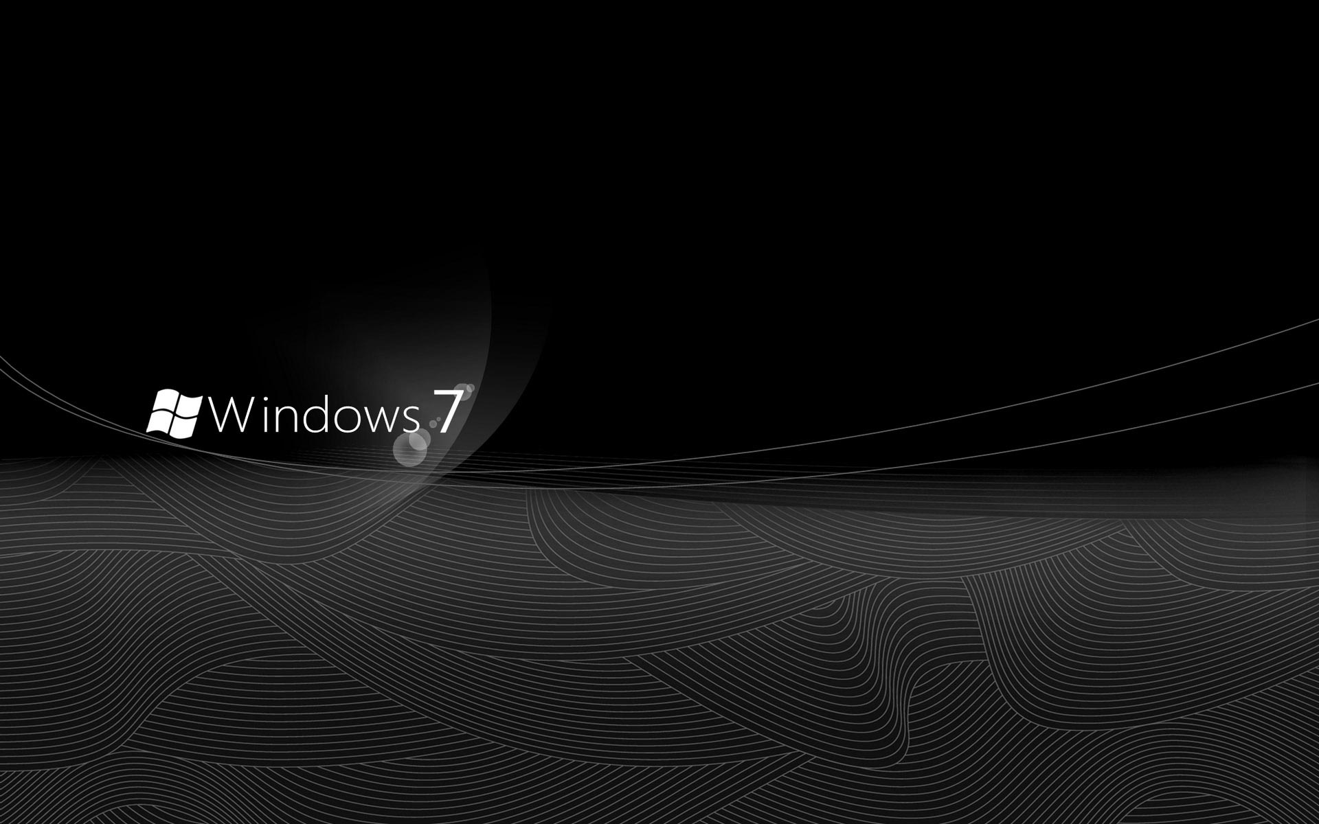 Dark Windows 7 Wallpaper