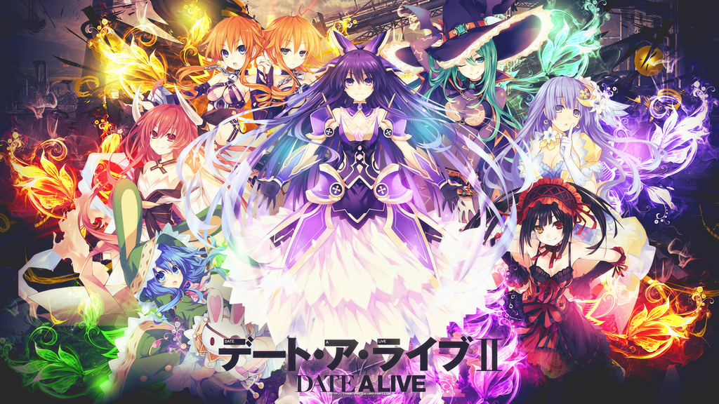 Date A Live Season 2 Wallpaper
