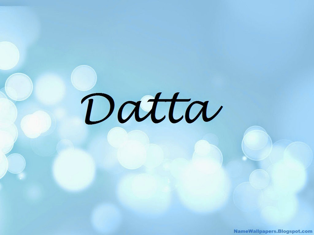 Datta Name Wallpaper