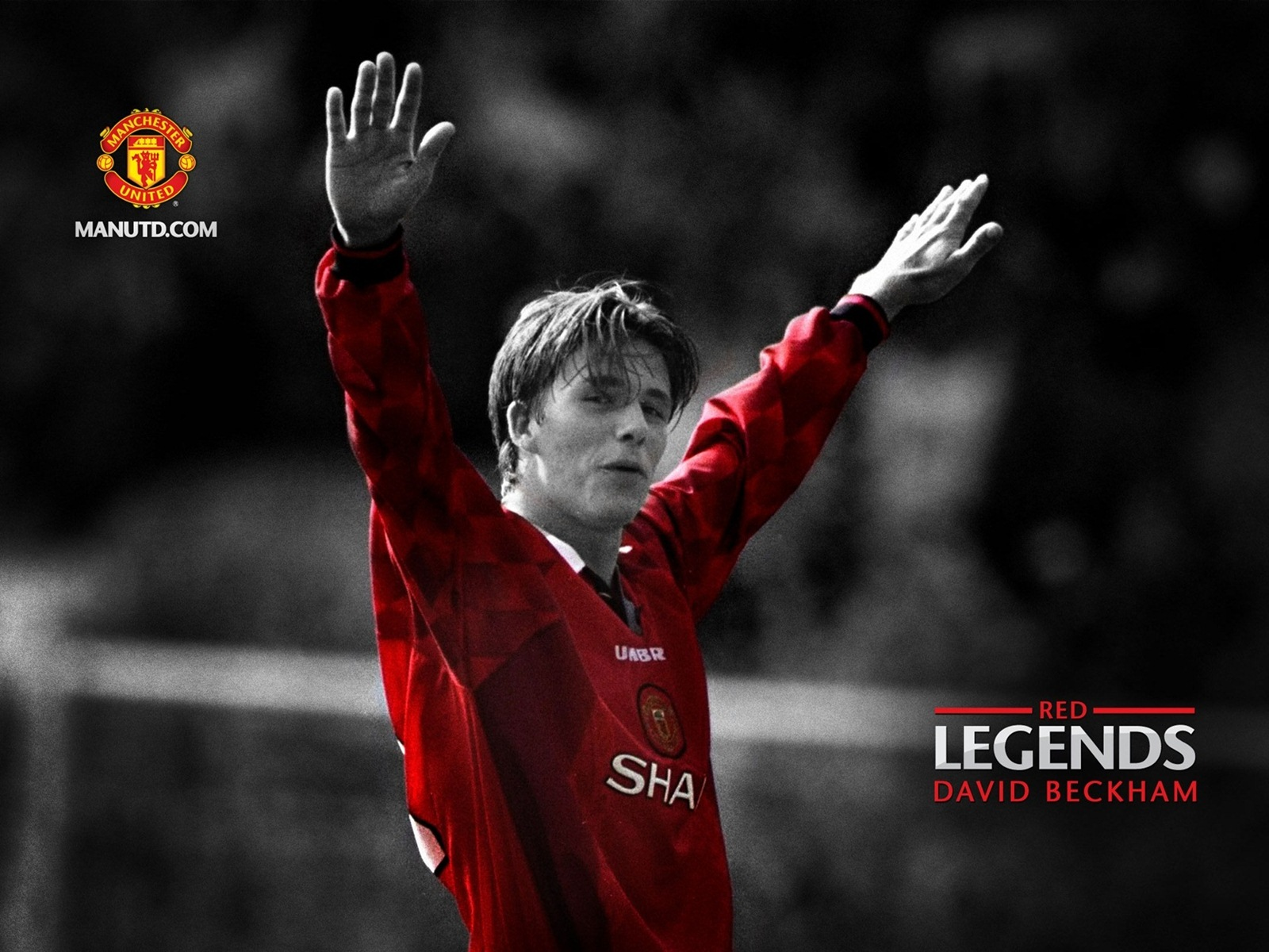 David Beckham Manchester United Wallpaper