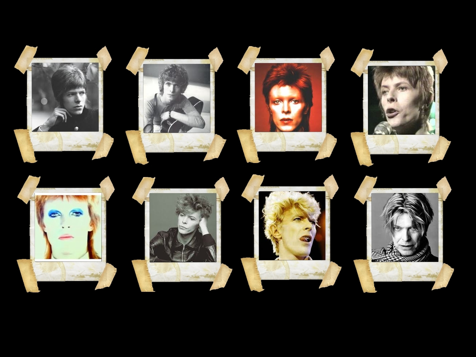 David Bowie Wallpaper Design