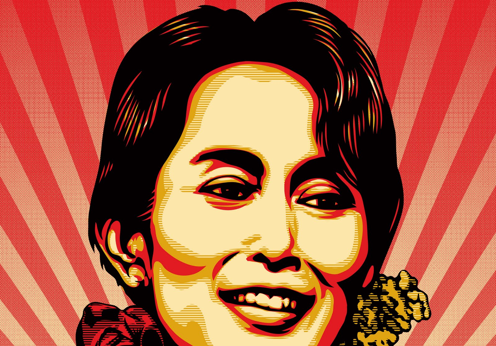 Daw Aung San Suu Kyi Wallpapers
