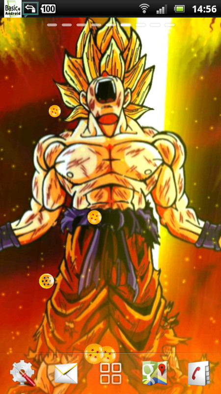 Dbz Live Wallpaper Apk