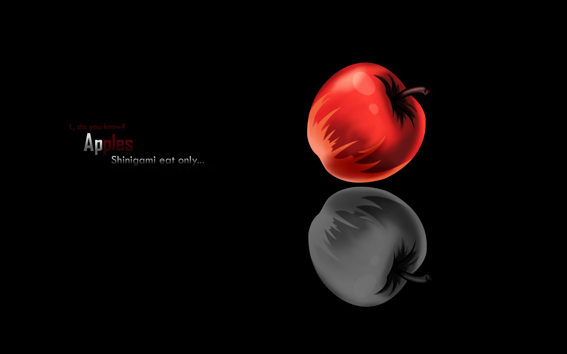 Death Note Apple Wallpaper