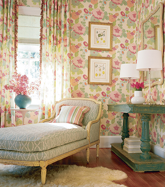 Design Of Wallpapers Of Rooms
