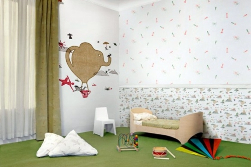 Designer Nursery Wallpaper