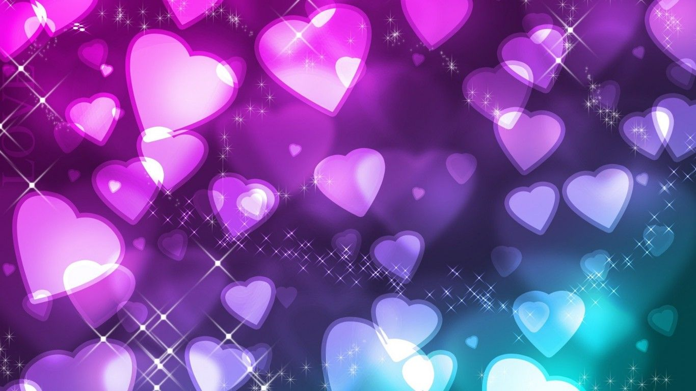 Desktop Wallpaper Hearts