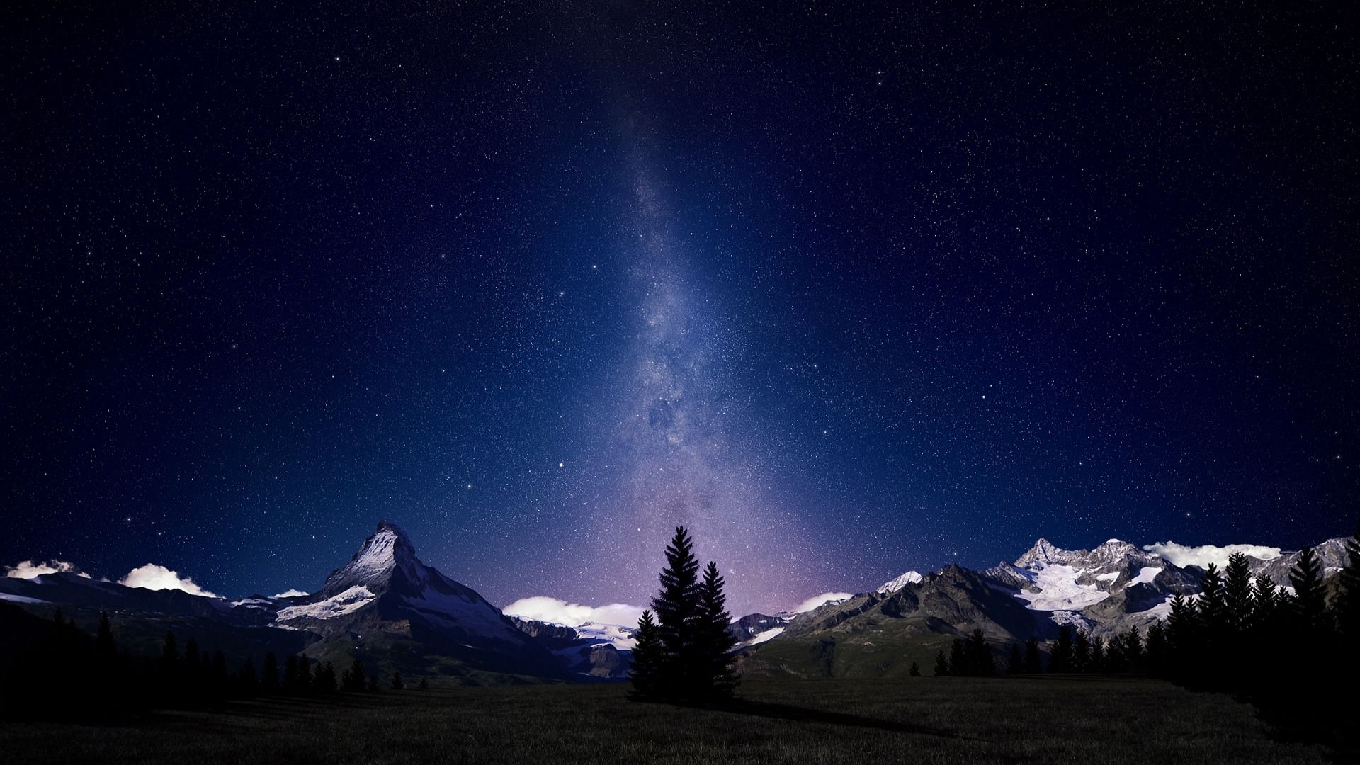Desktop Wallpaper Night Sky