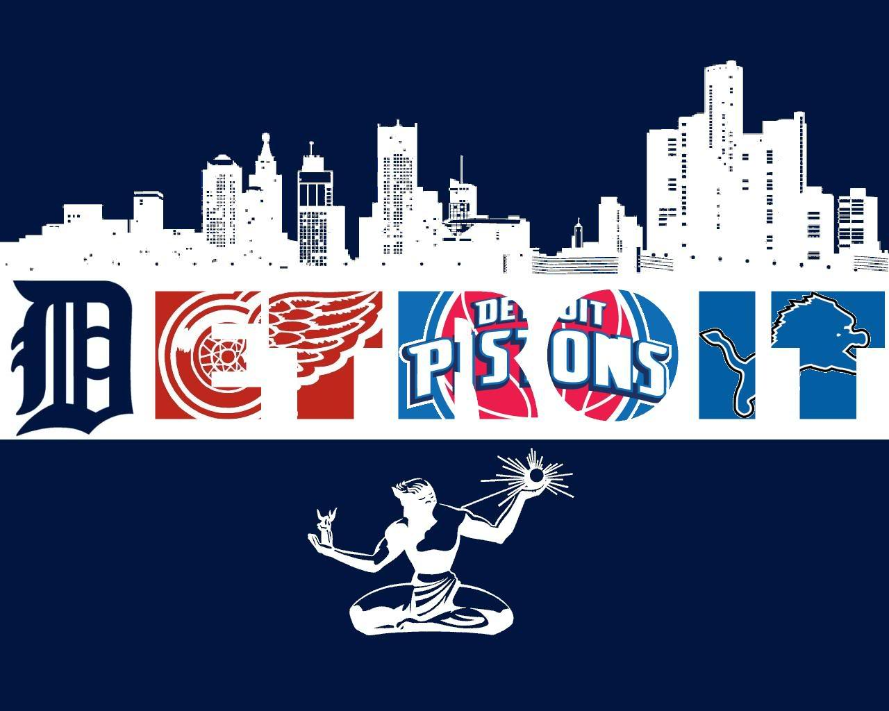 Detroit Sports Teams Wallpaper
