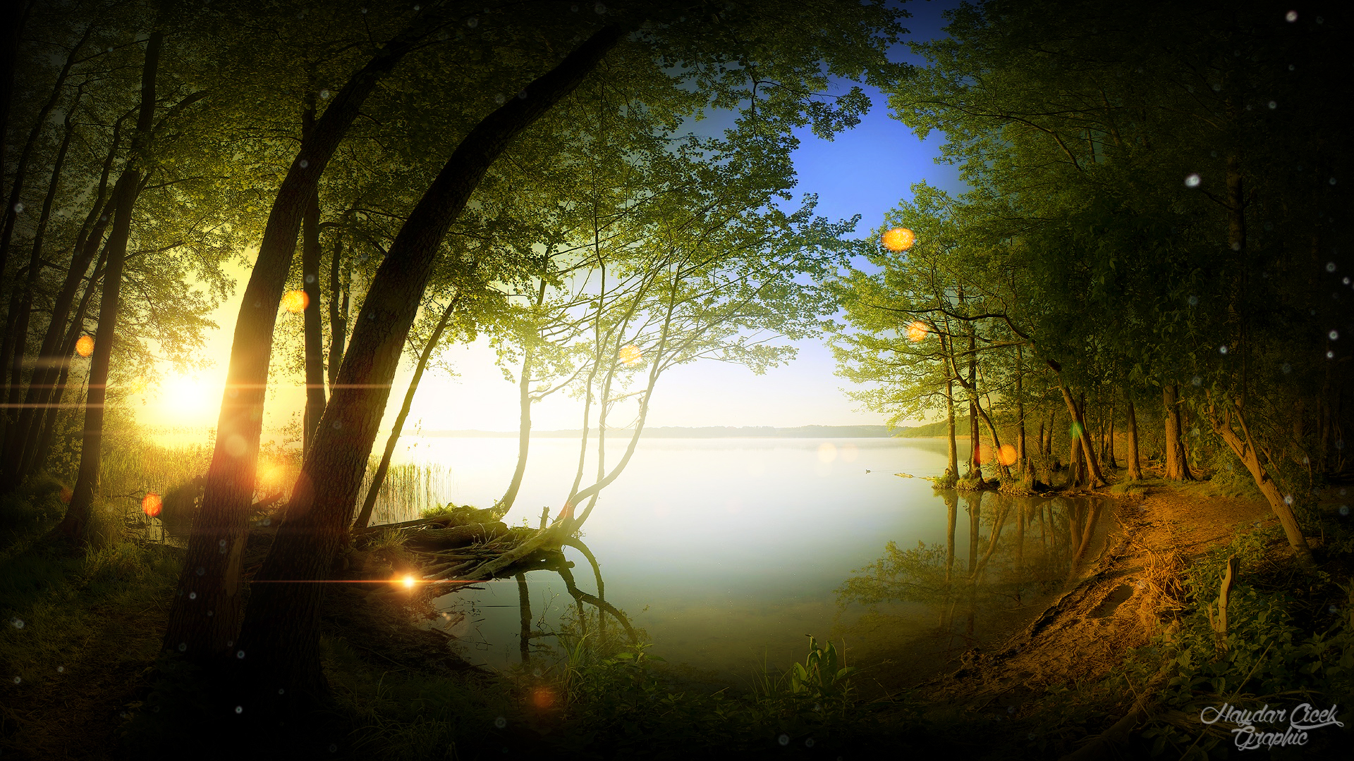 Fantasy Nature Wallpapers (74+ images)  Nature Background Art