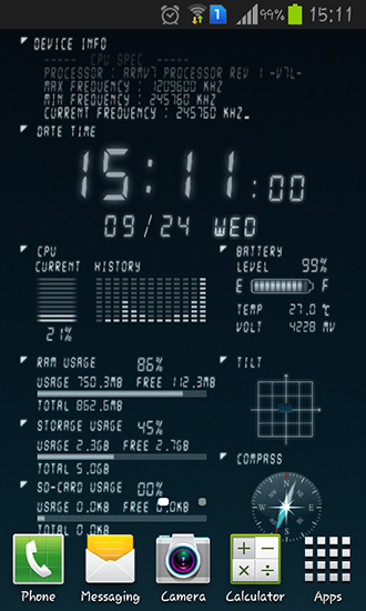 Device Live Wallpaper