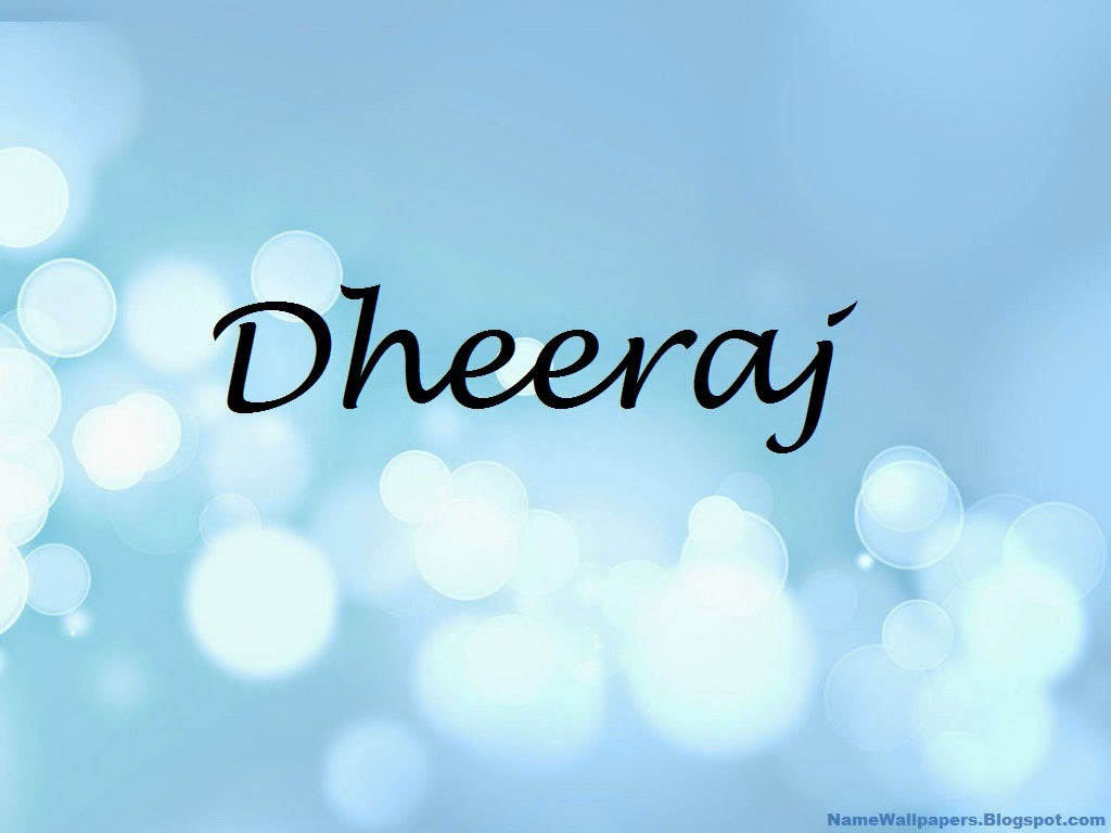 Dhiraj Name Wallpaper