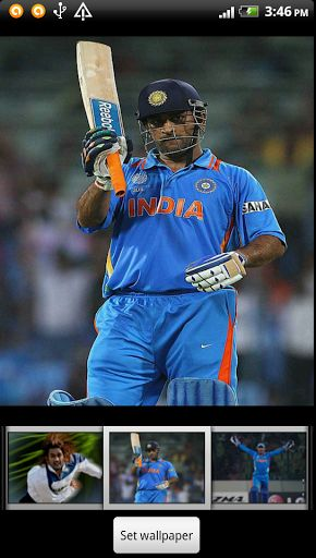 Dhoni Live Wallpaper