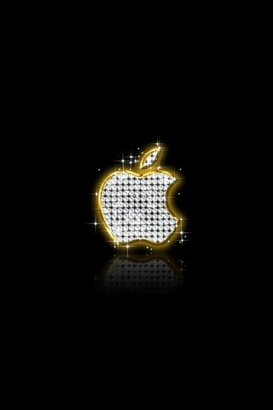 Diamond Apple Wallpaper