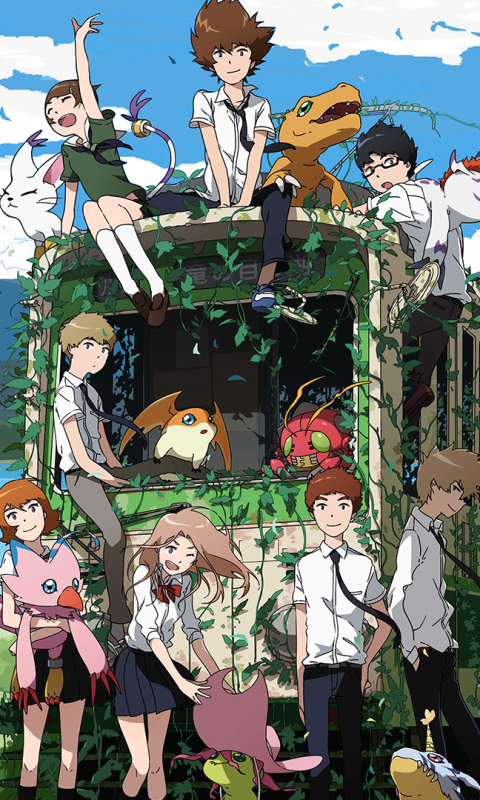 Digimon Phone Wallpaper