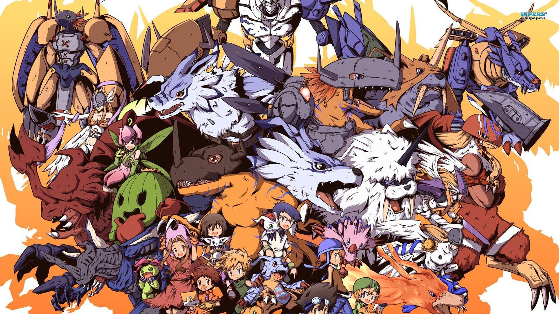 Digimon Season 1 Wallpaper