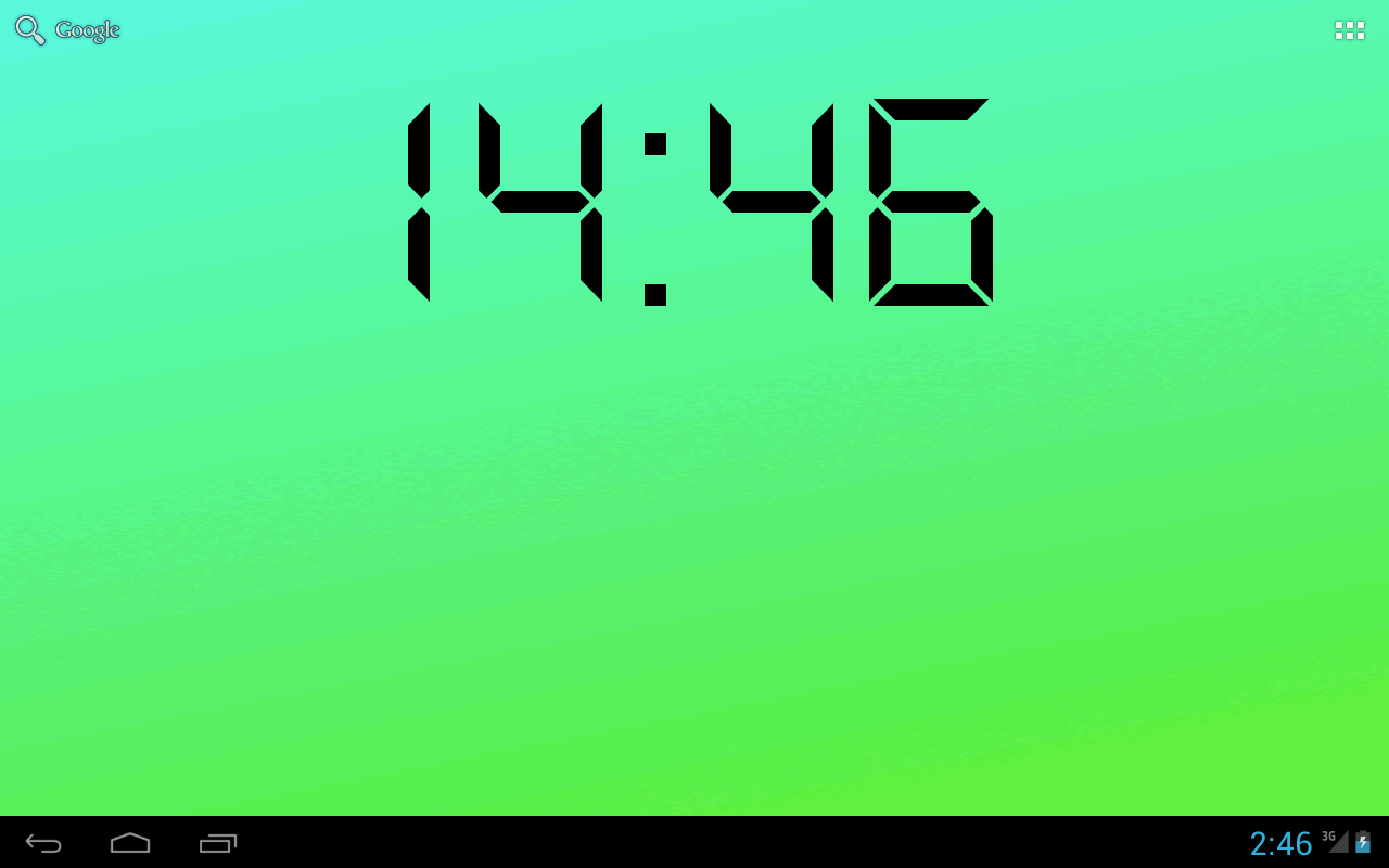 Digital Clock Live Wallpaper Free Download